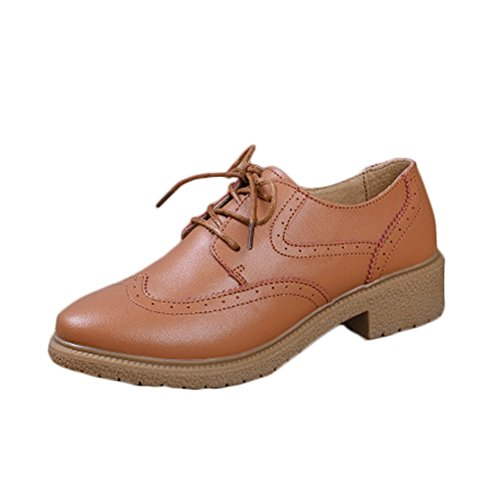 us8 / eu39 / uk6 / cn39 5 à 9 Chaussures à bout rond marron Casual femme  ruby   us5.5 / eu36 / uk3.5 / cn35 Maw81GbeOs