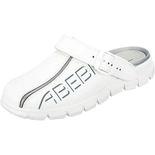 Abeba 7310-40 Dynamic Chaussures sabot Taille 40 Blanc