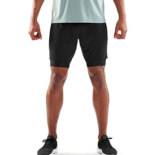 Skins DNAmic Superpose 2in1 Shorts - Medium - - Half Sport Tights Skins