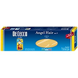 De Cecco Pasta, Angel Hair, 16 Ounce (Pack of 5)