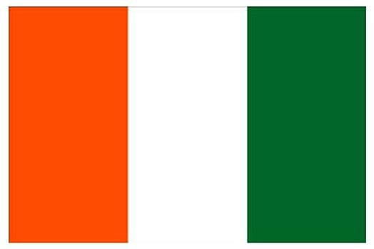 ivory coast flag 5ft x 3ft