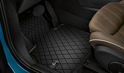 MINI Genuine All Weather Floor Mats Essential Black Rear For F56 51472354164