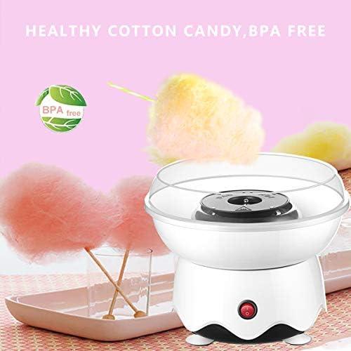 Electric cotton candy machine Candy Floss Maker ménage À faire soi-même Rose 450 W Cuisine