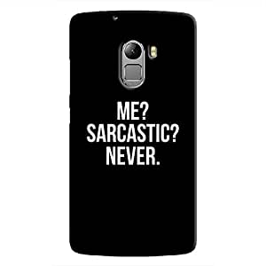 Cover It Up - Never Sarcastic K4 Note Hard Case