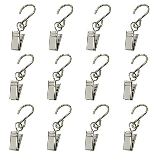 GuangTouL Party Light Hanger Outdoor Lights Clips Party Supplies Apply to Edison String Lights Outdoor Hooks Courtyards Camping Tents Christmas Decoration Accessories(30 Pack)