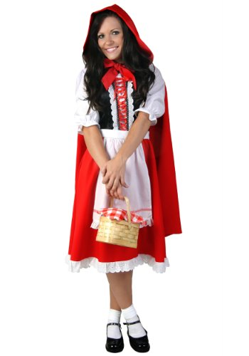 [Adult Little Red Riding Hood Costume Small] (Red Hood Joker Costume)
