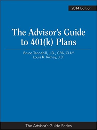 Advisor's Guide to 401(k) Plans