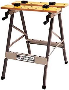 folding home workbenches amazon  professional woodworker 51834 folding work bench table