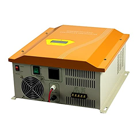 Tumo-Int 1000W 48V Wind and Solar Hybrid Controller with Built in Inverter (120Vac 60Hz)