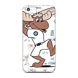 PhilHolmes Iphone 5c Shock-Absorbing Hard Phone Case Support Personal Customs HD Seattle Mariners Pictures [wxF18888oZut]