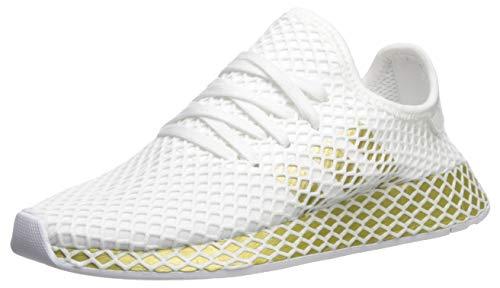 adidas Originals Women's Deerupt Runner, Gold Metallic/White, 8 M ()
