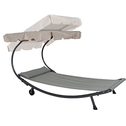Abba patio outdoor portable chaise lounge chair hammock - Outdoor mobel lounge ...