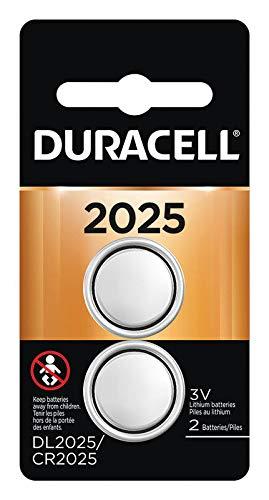 Duracell Keyless Entry Battery 3 V Model No. 2025 Card Of 2