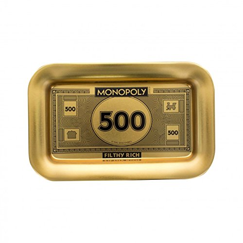 Played Monopoly (Monopoly Filthy Rich Money - Decorative Tray)