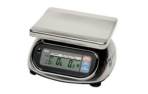 Washdown Bench Compact - A&D SK-5000WP SK-WP Series Washdown Digital Scale
