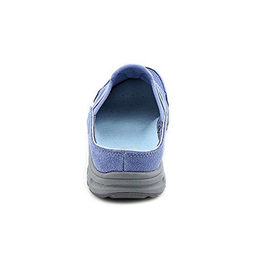 Easy Spirit Arora Womens Slip On Light Blue-crystal-suede