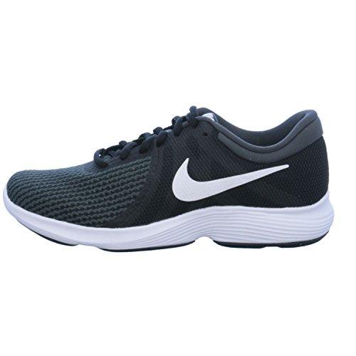 Nike Wmns Nike Revolution 4EU–Scarpe da corsa, Donna, Nero–(Black/White-ANTHRACITE)