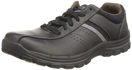 Skechers Braver Alfano, Sneakers da Uomo Nero (Blk)