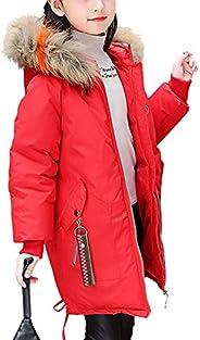 OCHENTA Girls' Water-Resistant Padded Coat Winter Parka Puffer Ja