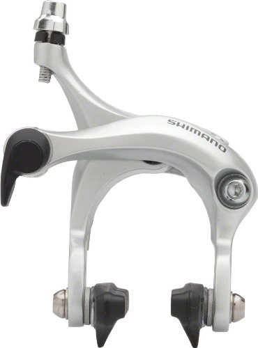 Shimano R451 Rear Mid- Reach Road Caliper, Silver by SHIMANO