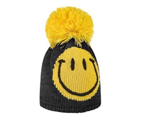 Brekka Hat Kind Lächeln Pompon Ski-Hüte Zubehör Skifahren BRF14 J258 YEL