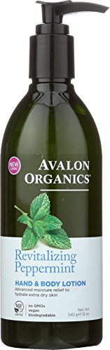 Revitalizing Peppermint Body Lotion, Avalon