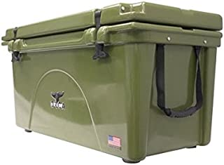product image for ORCA ORCG075 Cooler with Extendable flex-grip handles for comfortable solo or tandem portage, 75 quart, Green
