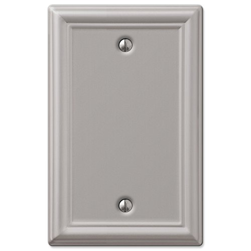 Blank Wall Plate - Brushed Nickel
