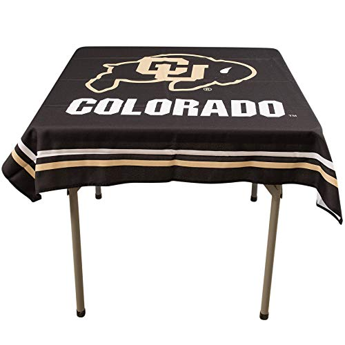 College Flags and Banners Co. Colorado Buffaloes Logo Tablecloth or Table ()