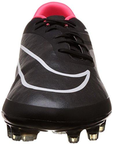 Nike Mens Hypervenom Phatal Fg Fotboll Cleat Svart / Hyper Punch / Vit