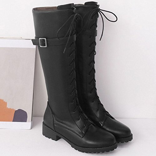Zipper Boots Haut Mode Femmes Zanpa Iw7aqXTq