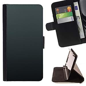 For HTC One M8,S-type Simple Gray 3- Dibujo PU billetera de cuero Funda Case Caso de la piel de la bolsa protectora