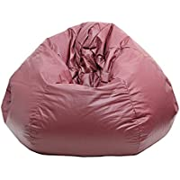 Gold Medal Bean Bags Small/Toddler Leather Look Vinyl Bean Bag, Purple