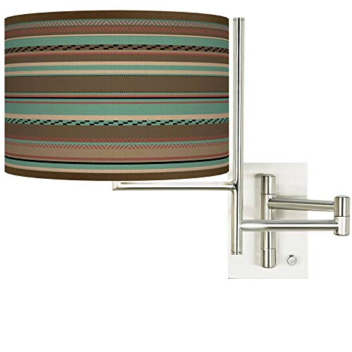 Tempo Southwest Shore Plug-in Swing Arm Wall Lamp - Giclee Glow