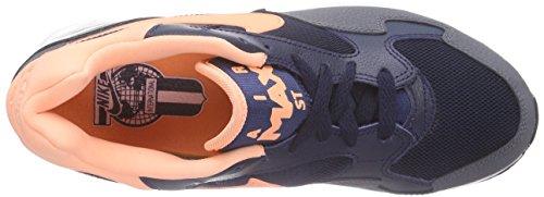 Nike Mens Air Max St Ankle-alta Scarpa Da Corsa In Pelle Ossidiana Tramonto Bagliore Grigio Scuro 401