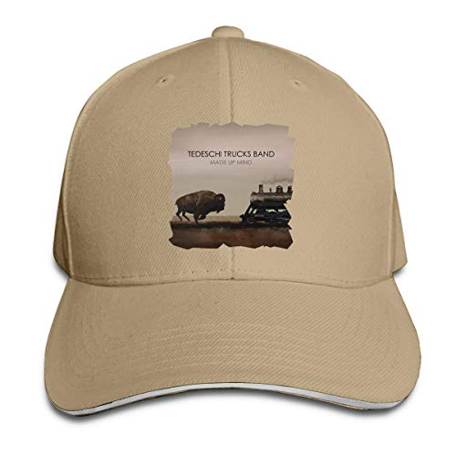 Anakalenina Adult Tedeschi Trucks Made Up Mind Sandwich Baseball Hats Adjustable Hip Hop Snapback Cap Natural