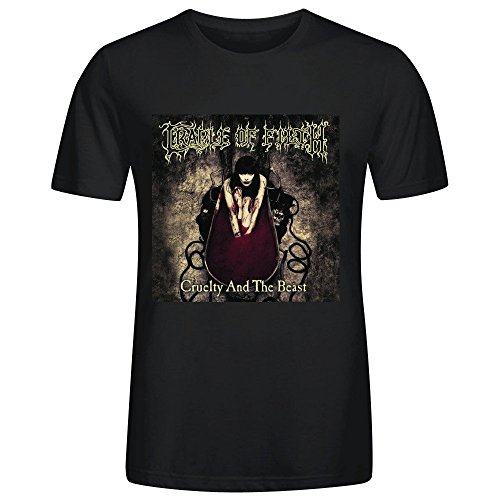 Cradle Of Filth Cruelty And The Beast T-shirt For Men Crew Neck Black (Lil Pancake)