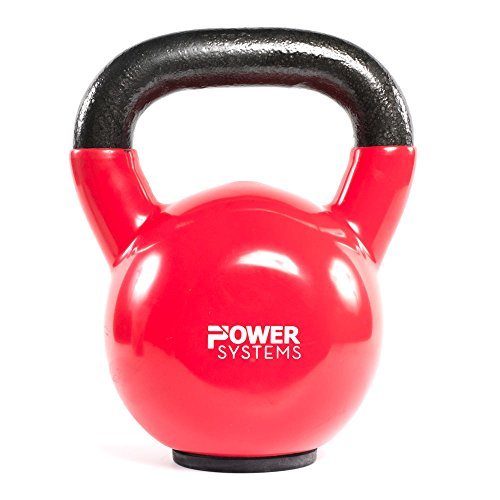 Power Systems Premium Kettlebell 18 Pound, Red (50356)