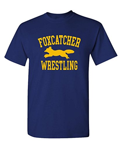 The Goozler Foxcatcher Wrestling - Sport Movie - Mens Cotton T-Shirt, M, Navy by The Goozler