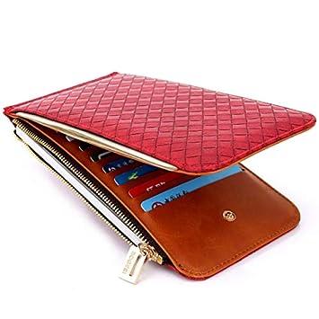Amazon.com: Ladies Purse Top Mini Wallet Women Small Clutch ...
