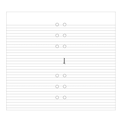 Filofax Ruled White Notepad (B132210)