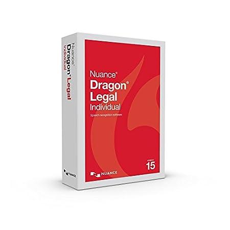 Dragon NaturallySpeaking Legal Individual 15.0