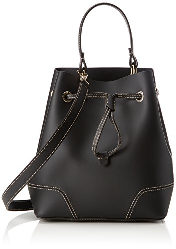 Furla Women's Stacy S Drawstring, Onyx, One Size