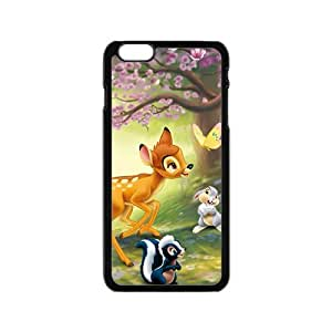 Spring scenery deers and lovely small animal Cell Phone Case for Iphone 6