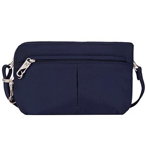 Travelon Anti-Theft Classic Light Convertible Crossbody and Waistpack Cross Body Bag, Lush Blue, One Size