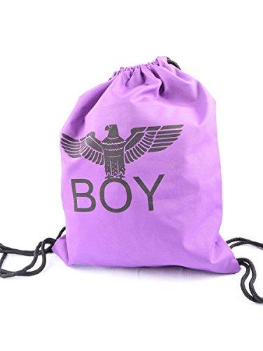Bag One London Size Shoulder Purple Men's Boy xqSwTzHg