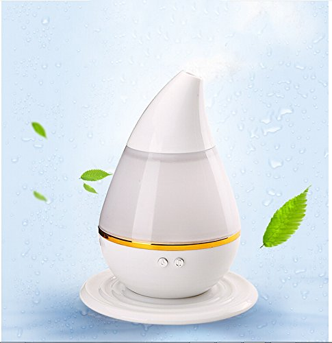 Mini USB Humidifier, Oversized Mist,Diffuse Water & Essential Oils, Changing Colors Light Automatically,Keep 10-20 Square Meters Air Humidity, for Home\\Office £¬Tank capacity: 200ml ¡