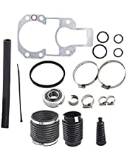 WFLNHB Transom Bellows Repair Reseal Kit 816431A1 Fit for MerCruiser Alpha 1 Gen 2 30-803099T1