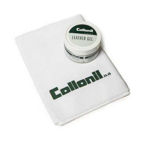 Collonil Men's Leather Gel And Cleaning Cloth One Size Multicolor