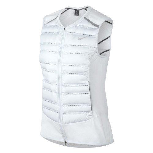 acheter populaire 9a11c 5b055 Amazon.com : NIKE Aeroloft Women's Running Gilet Vest - Pure ...